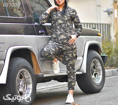 ست سوئيشرت شلوارچيريكي دخترانه مدلAfsane طوسی سوئیشرت زنانه