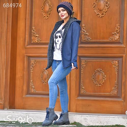 هودي دخترانه سرمه اي مدل Toran سوئیشرت زنانه