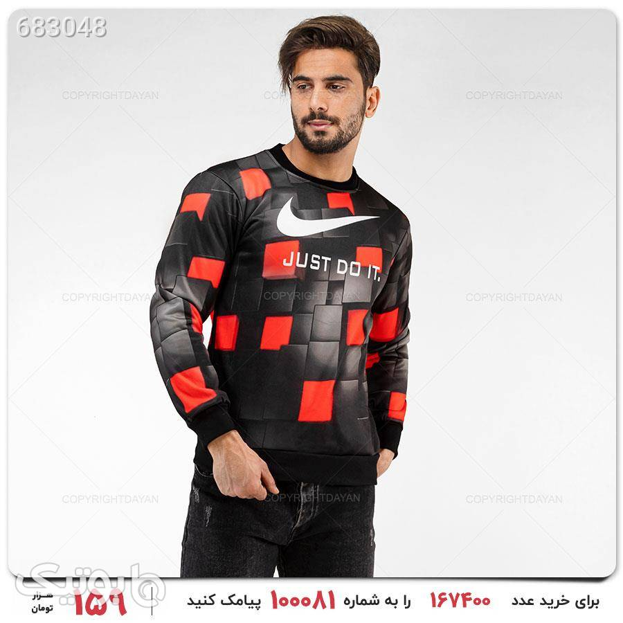 بلوز مردانه Nike مدل 16697 مشکی بلوز