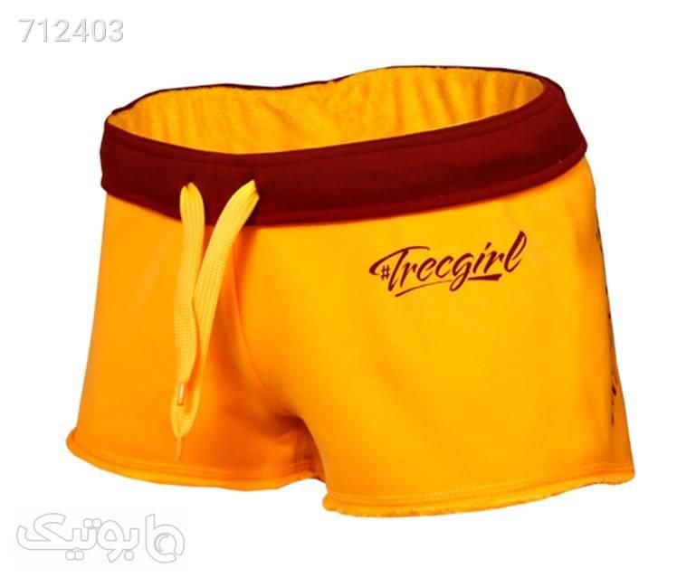 شلوارک زنانه ترک ویر مدل 001 Yellow زرد شلوارک زنانه