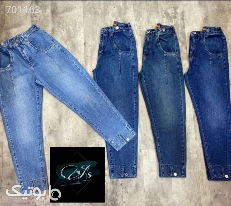 شلوار جین آبی شلوار جین زنانه