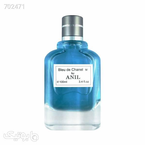 ادوتویلت مردانه آنیل مدل Bleu de Chanel سری اکونومیک حجم 100 میلی لیتر آبی عطر و ادکلن