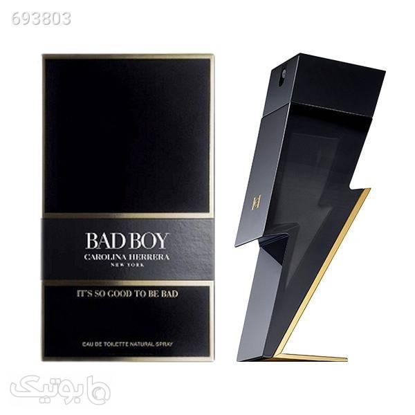 ادو تویلت مردانه کارولینا هررا مدل Bad Boy حجم 100 میلی لیتر مشکی عطر و ادکلن