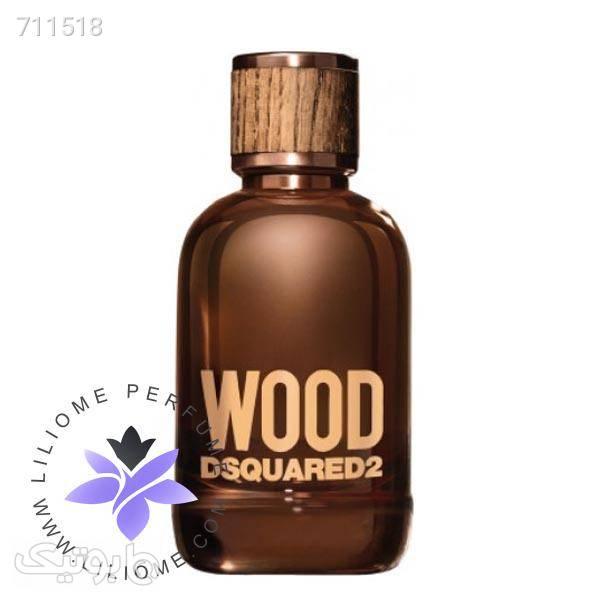 عطر ادکلن دی اسکورد وود مردانه   DSQUARED² Wood for Him قهوه ای عطر و ادکلن