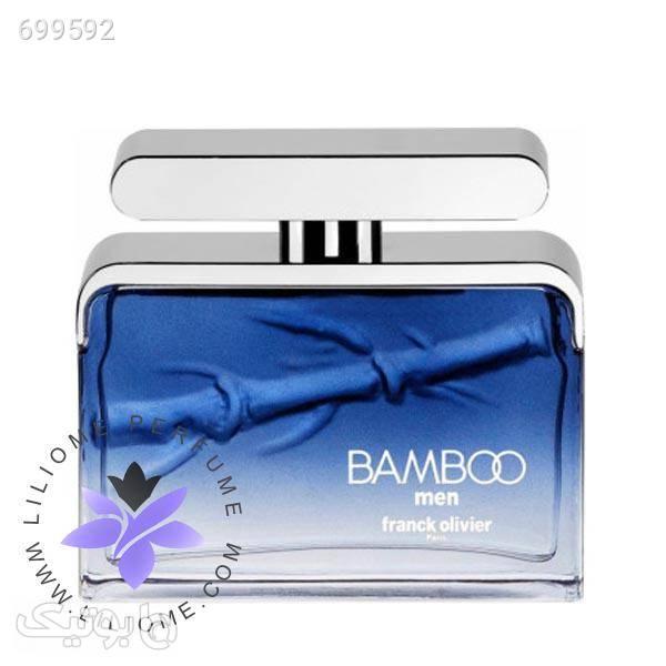 عطر ادکلن فرانک اولیور بامبو مردانه | franck olivier Bamboo Men آبی عطر و ادکلن