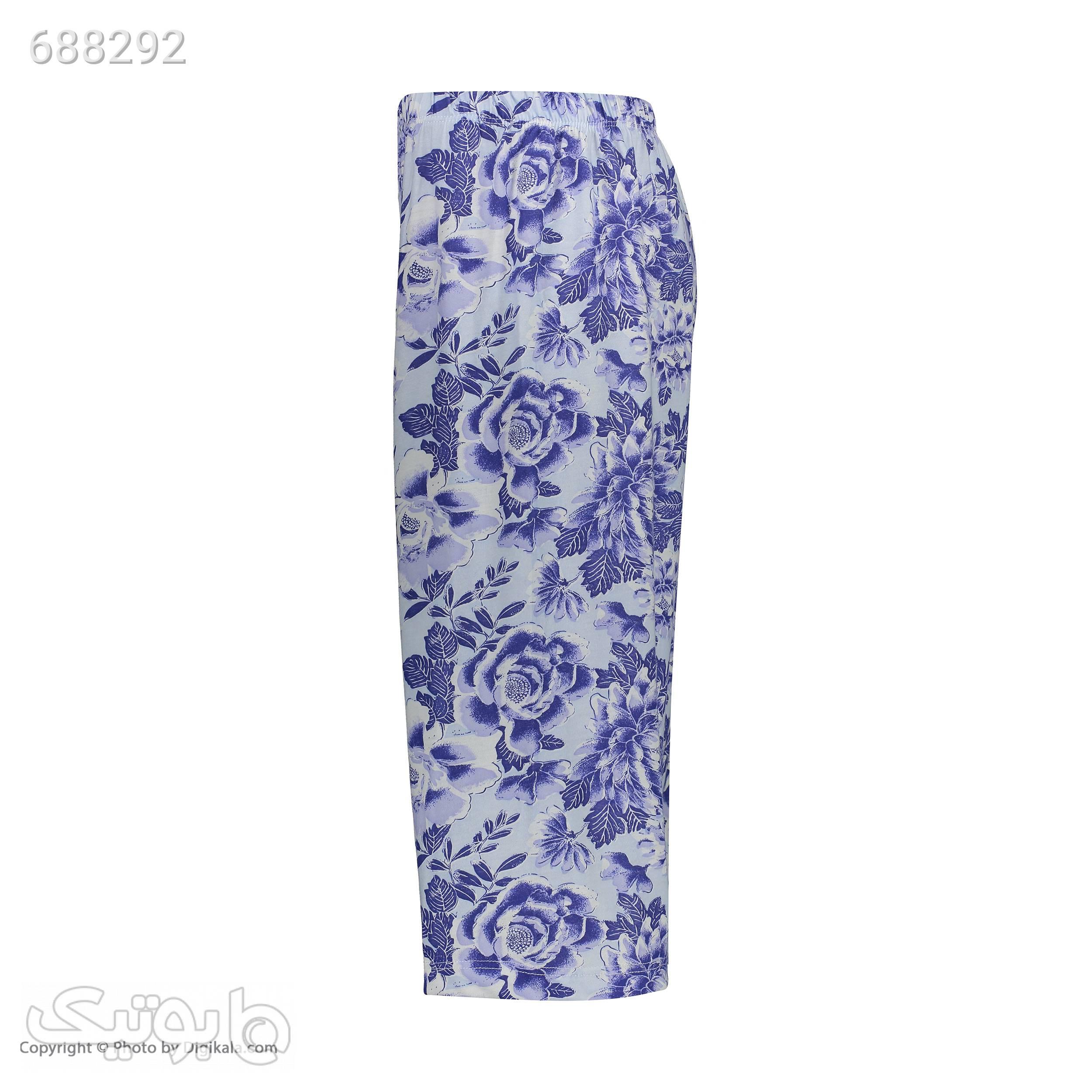 شلوارک زنانه کد 555 سورمه ای لباس راحتی زنانه