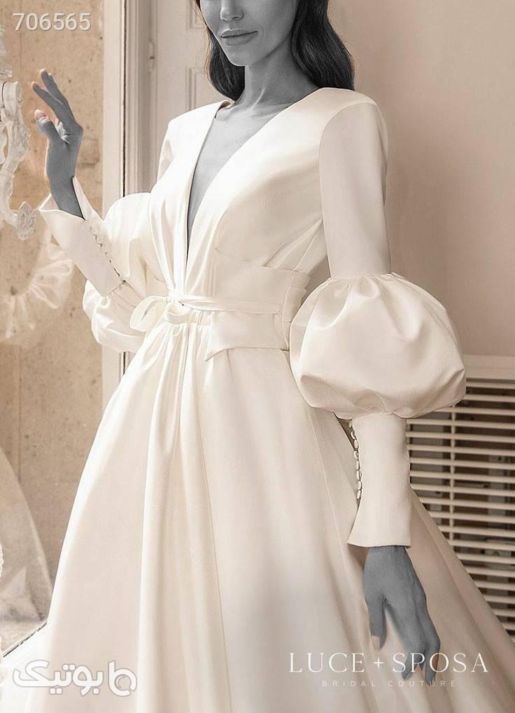 لباس عروس سفید لباس عروس