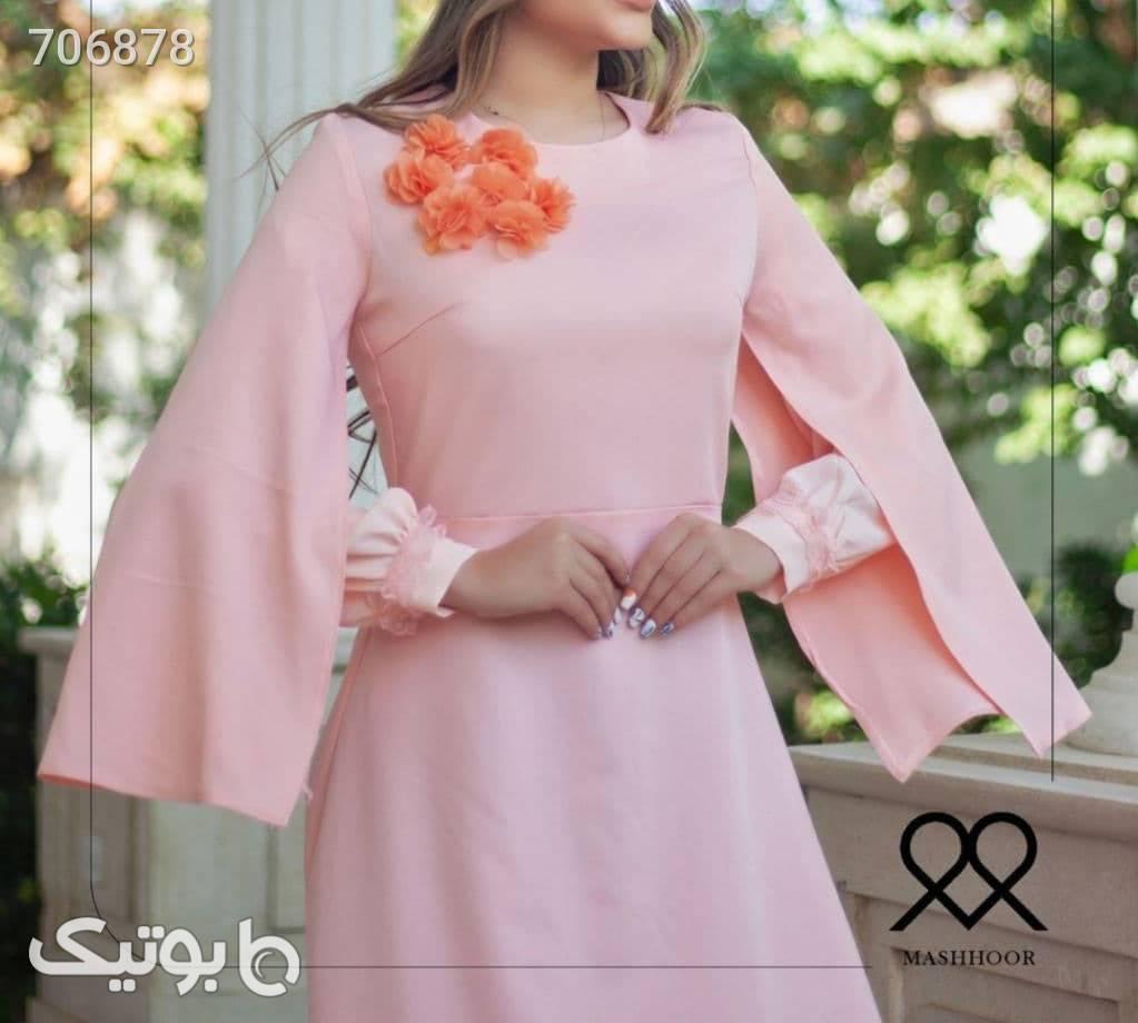 پیراهن عیدانه صورتی لباس عروس