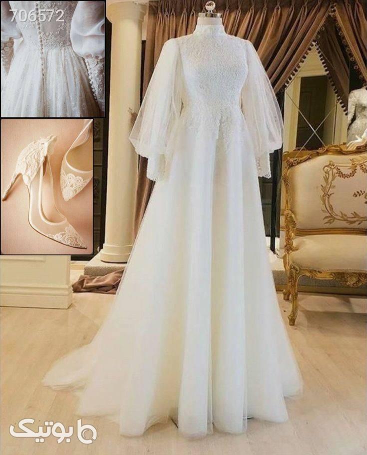 پیراهن مجلسی عروس سفید لباس عروس