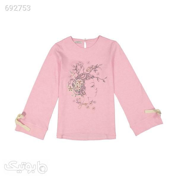 بلوز دخترانه پیانو مدل 100900980122681 صورتی لباس کودک دخترانه