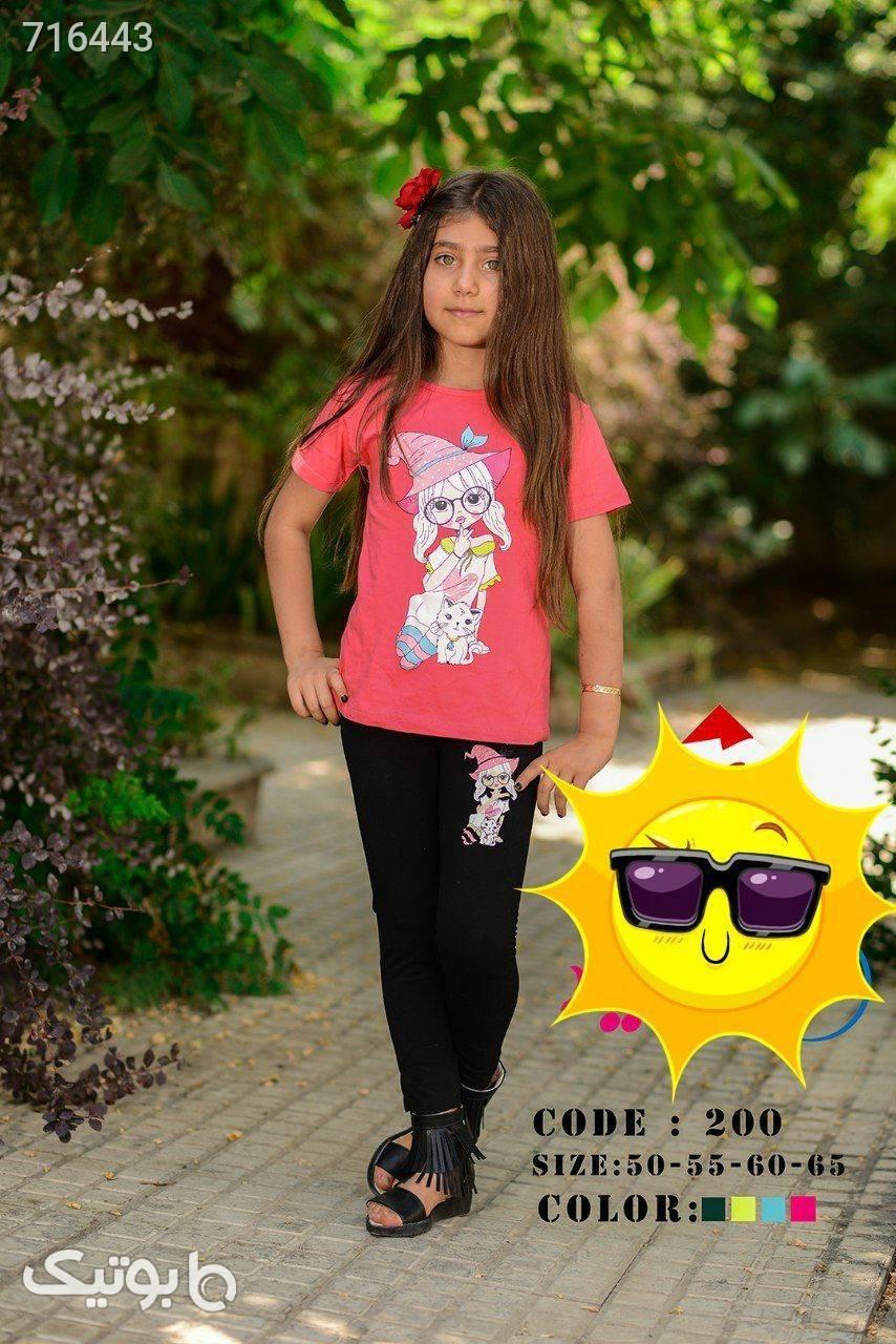 بلوز و شلوار دخترانه  زرد لباس کودک دخترانه