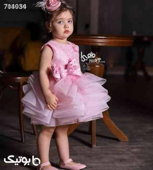 پیراهن جدید و ناز زرد لباس کودک دخترانه