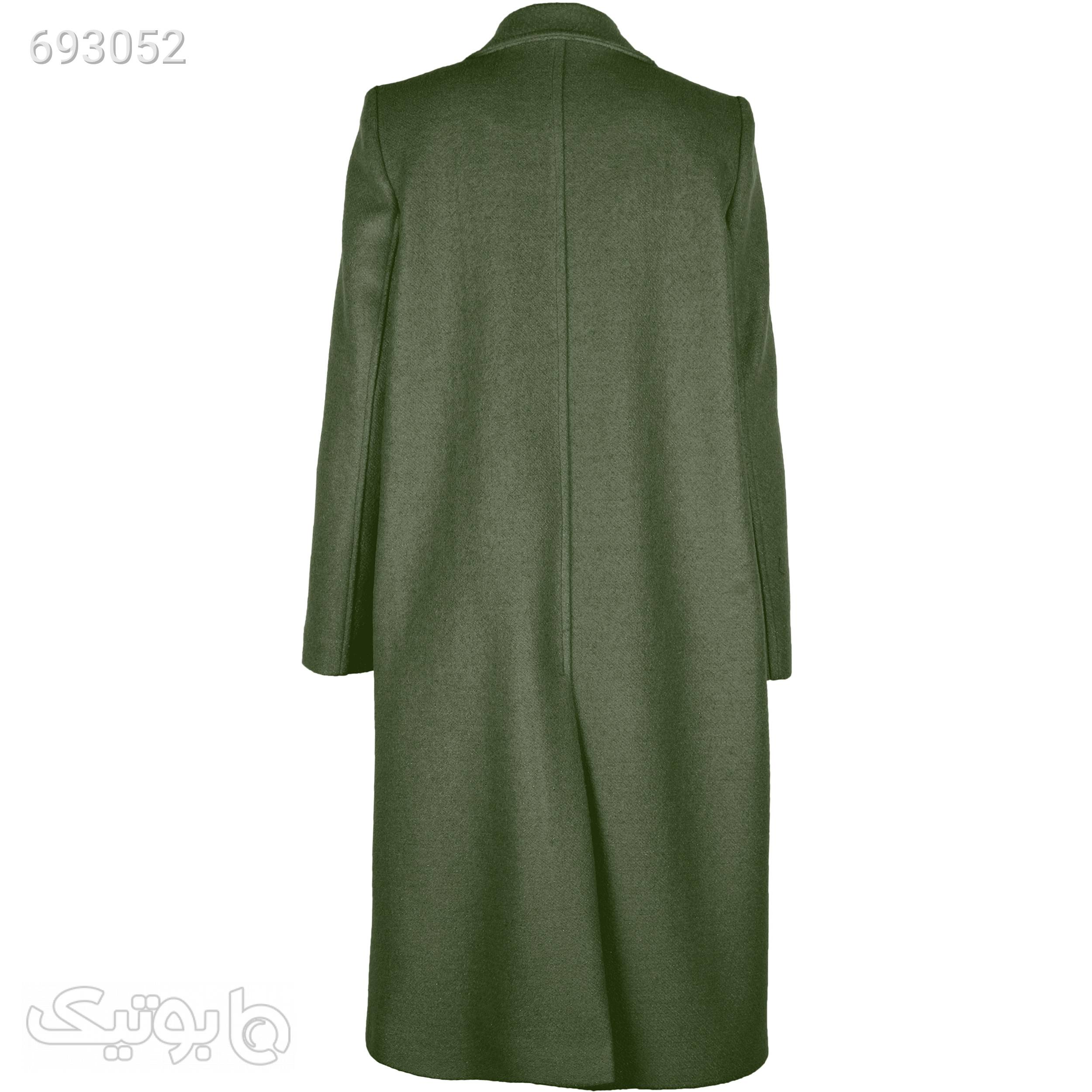پالتو زنانه زیبو مدل ایمی کد 01716 سبز پالتو زنانه