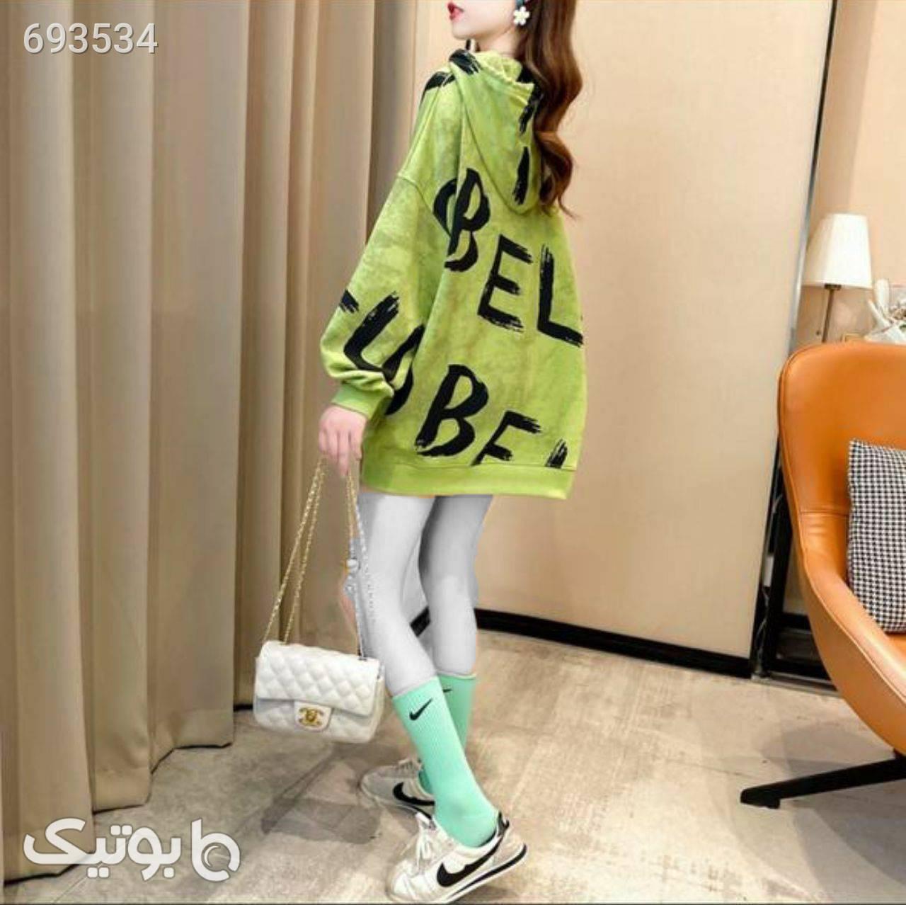 هودی اسپرت لش سبز پلیور و ژاکت زنانه