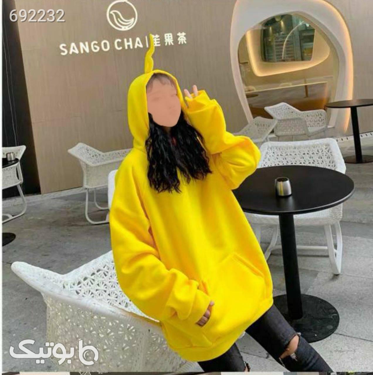 هودی لش  زرد پلیور و ژاکت زنانه