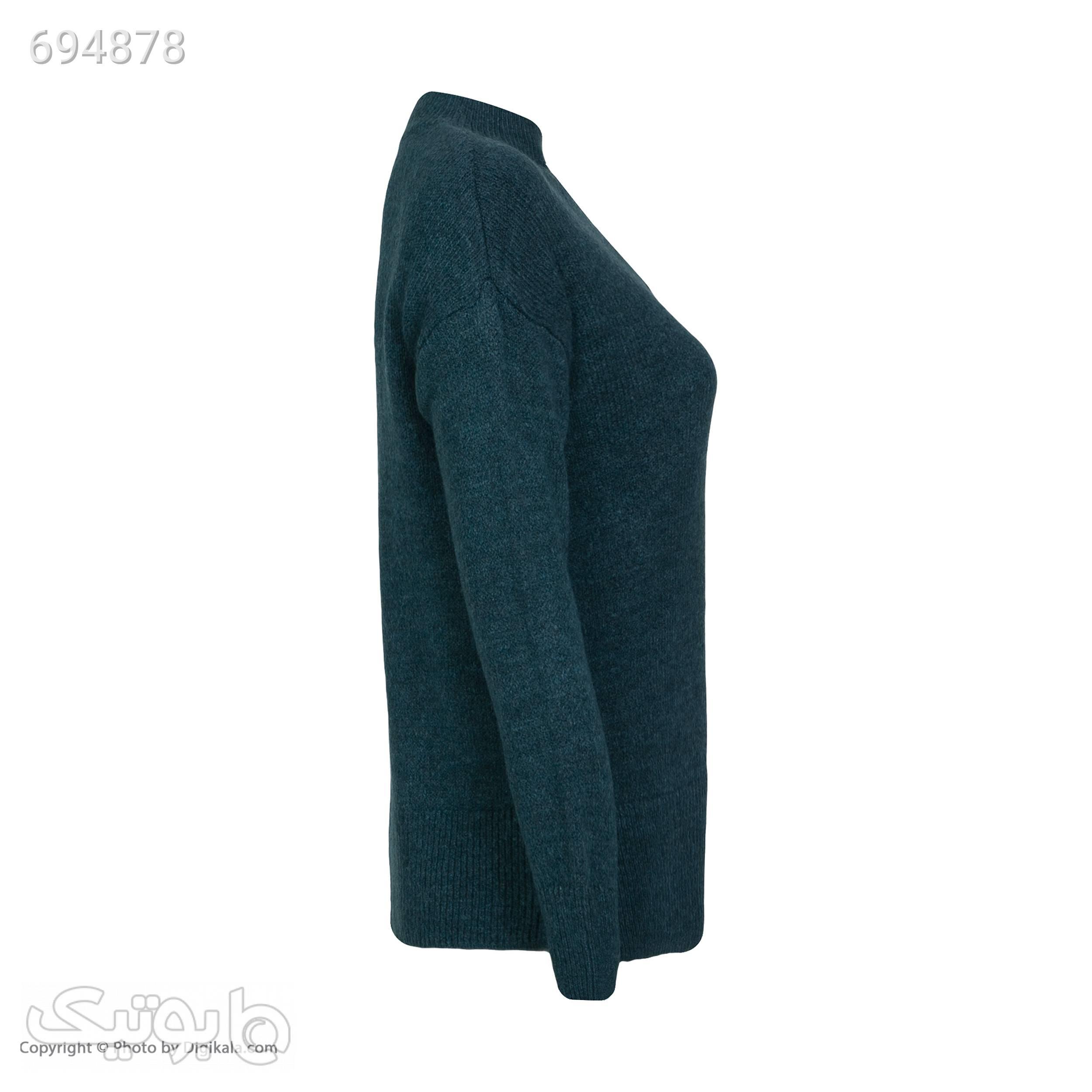 پلیور زنانه ال سی وایکیکی مدل 8W3962Z8MCG سبز پلیور و ژاکت زنانه