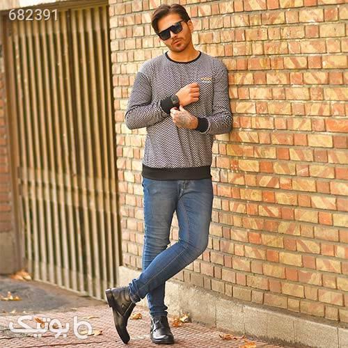 پليور مردانه مدل Patrick طوسی پليور و ژاکت مردانه