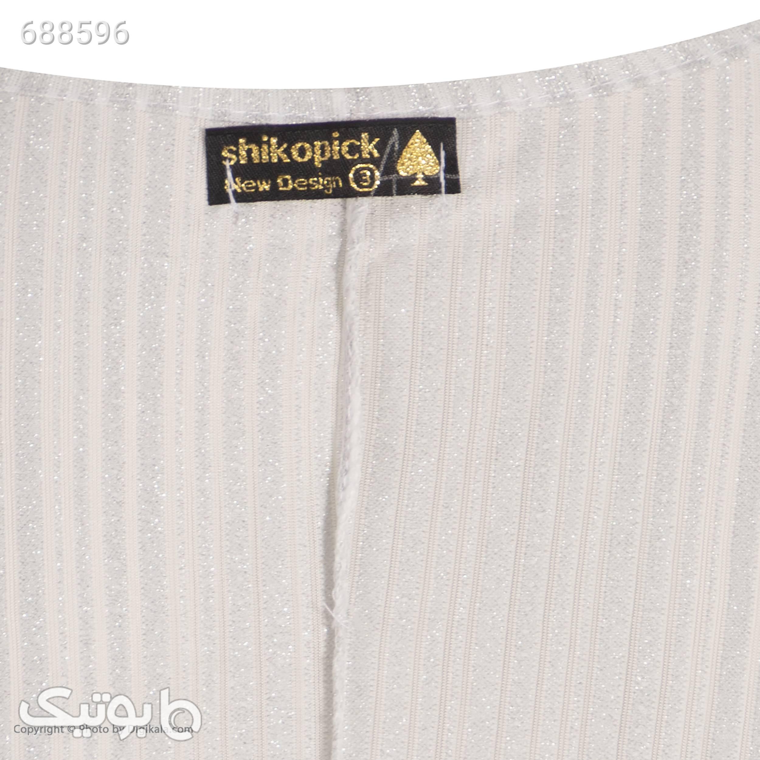 پیراهن زنانه شیک و پیک مدل پانیز کد 21 سفید پيراهن و سارافون زنانه