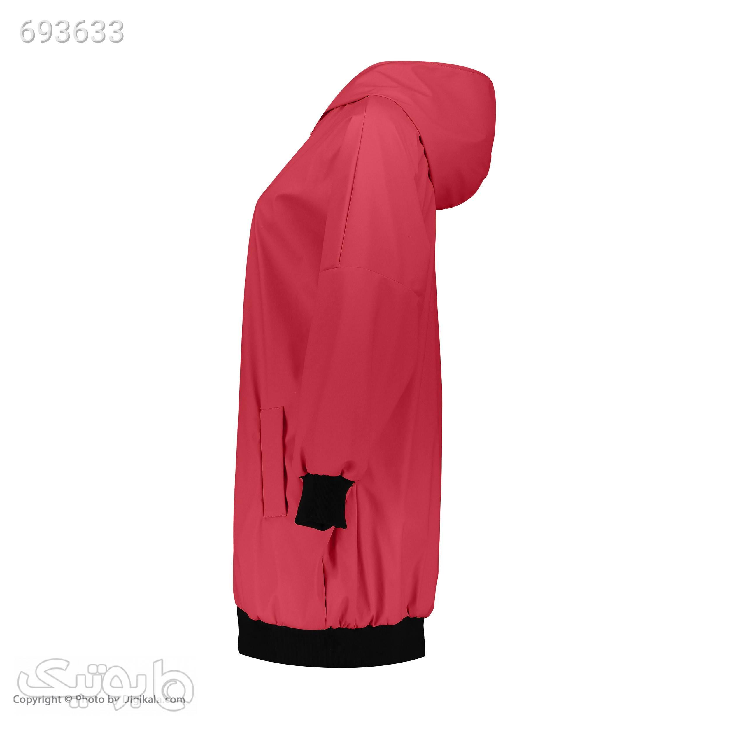 بارانی زنانه کیکی رایکی مدل BB1048004 صورتی کاپشن و بارانی زنانه