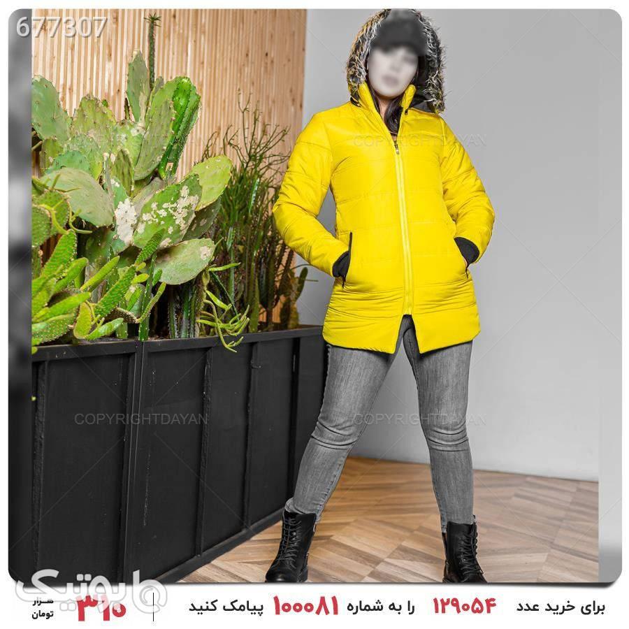 کاپشن زنانه Marta مدل 17422 زرد کاپشن و بارانی زنانه