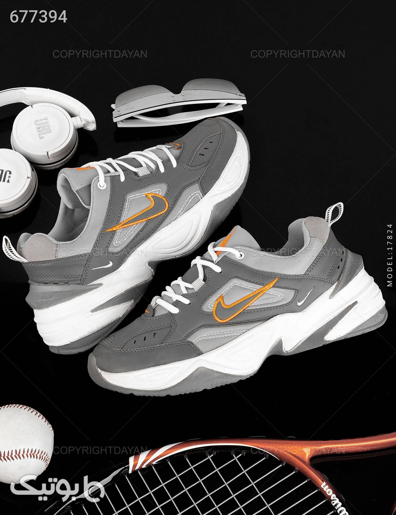کتانی شیک مردانه Nike نقره ای كتانی مردانه