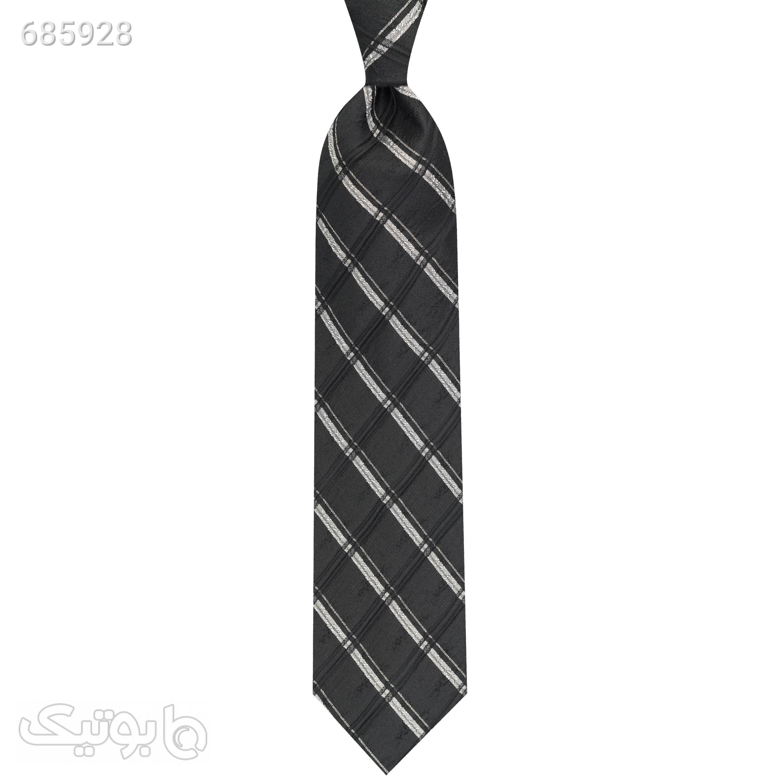 کراوات مردانه جیان فرانکو روسی مدل GFST533BK مشکی كراوات و پاپيون
