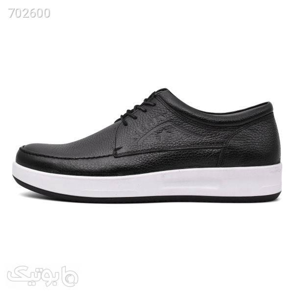 کفش روزمره مردانه نگین مدل برلیانت کد 5965 مشکی كفش مردانه