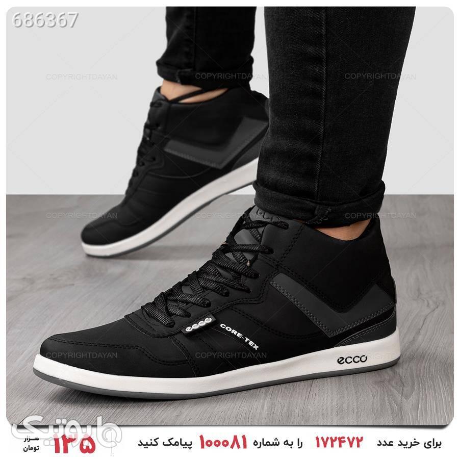 کفش ساقدار مردانه Ecco مدل 16421 مشکی كفش مردانه