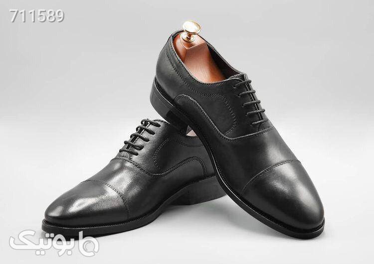 کفش مجلسی کلاسیک مشکی كفش مردانه