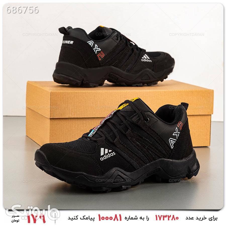 کفش مردانه Adidas مدل 17093 مشکی كتانی مردانه