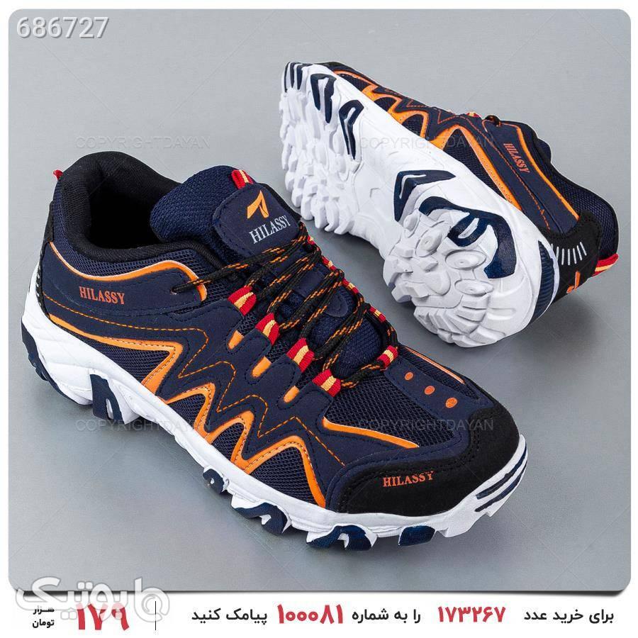 کفش ورزشی مردانه Hilassy مدل 17402 مشکی كتانی مردانه
