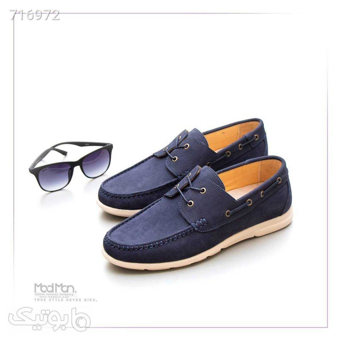 کفش کالج مردانه سورمه ای كفش مردانه