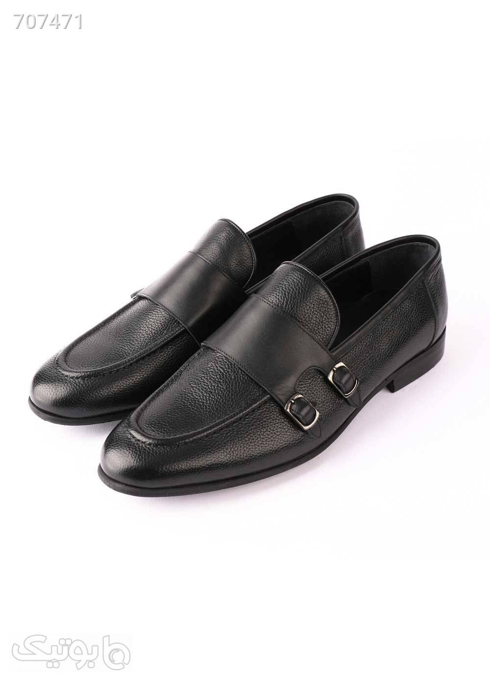 کفش کلاسیک مردانه مرسدس قهوه ای كفش مردانه