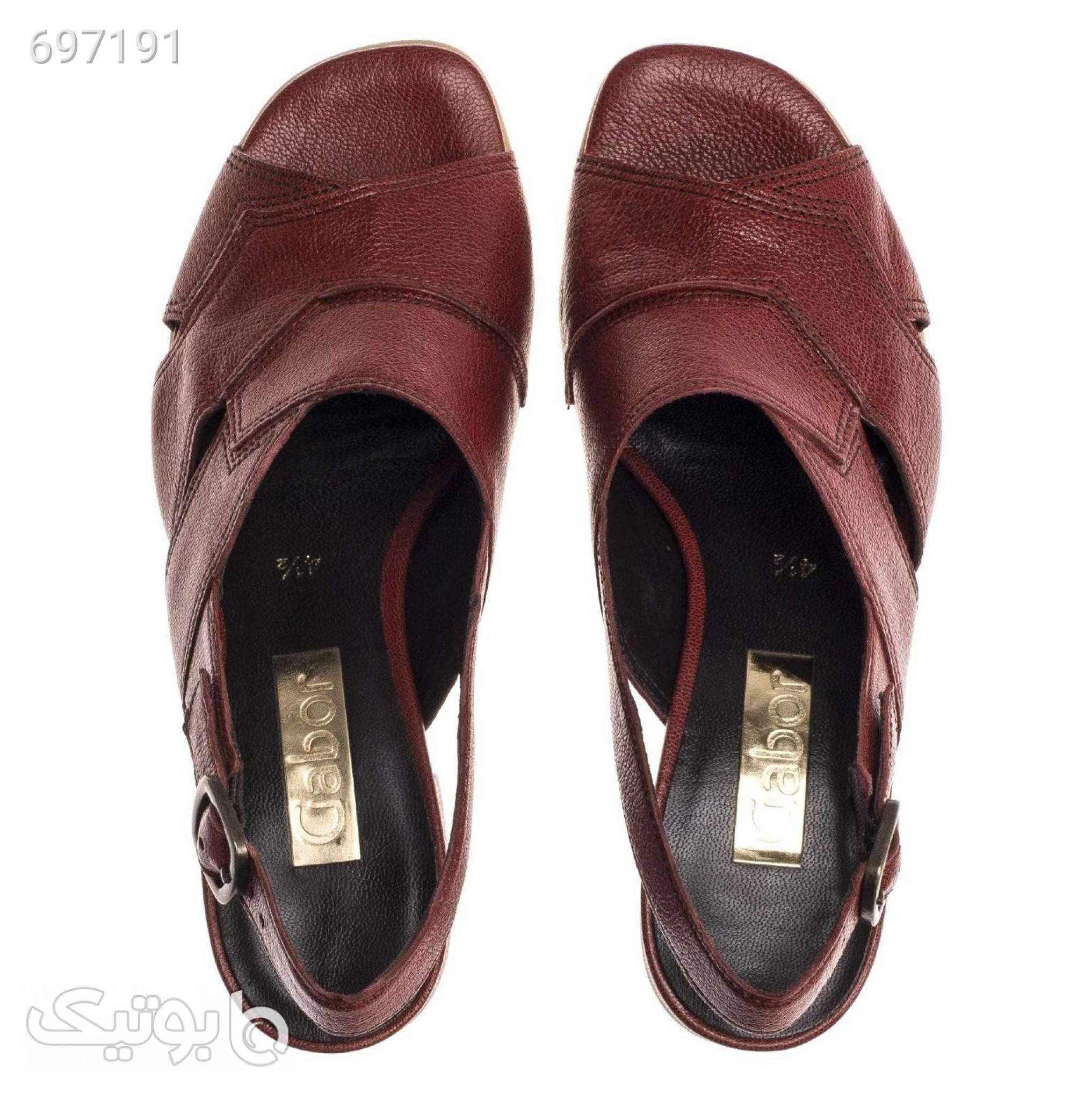 کفش زنانه گابور مدل 81.802.25 قهوه ای كفش پاشنه بلند زنانه