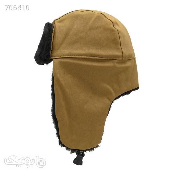 کلاه کد 716 قهوه ای کلاه و اسکارف