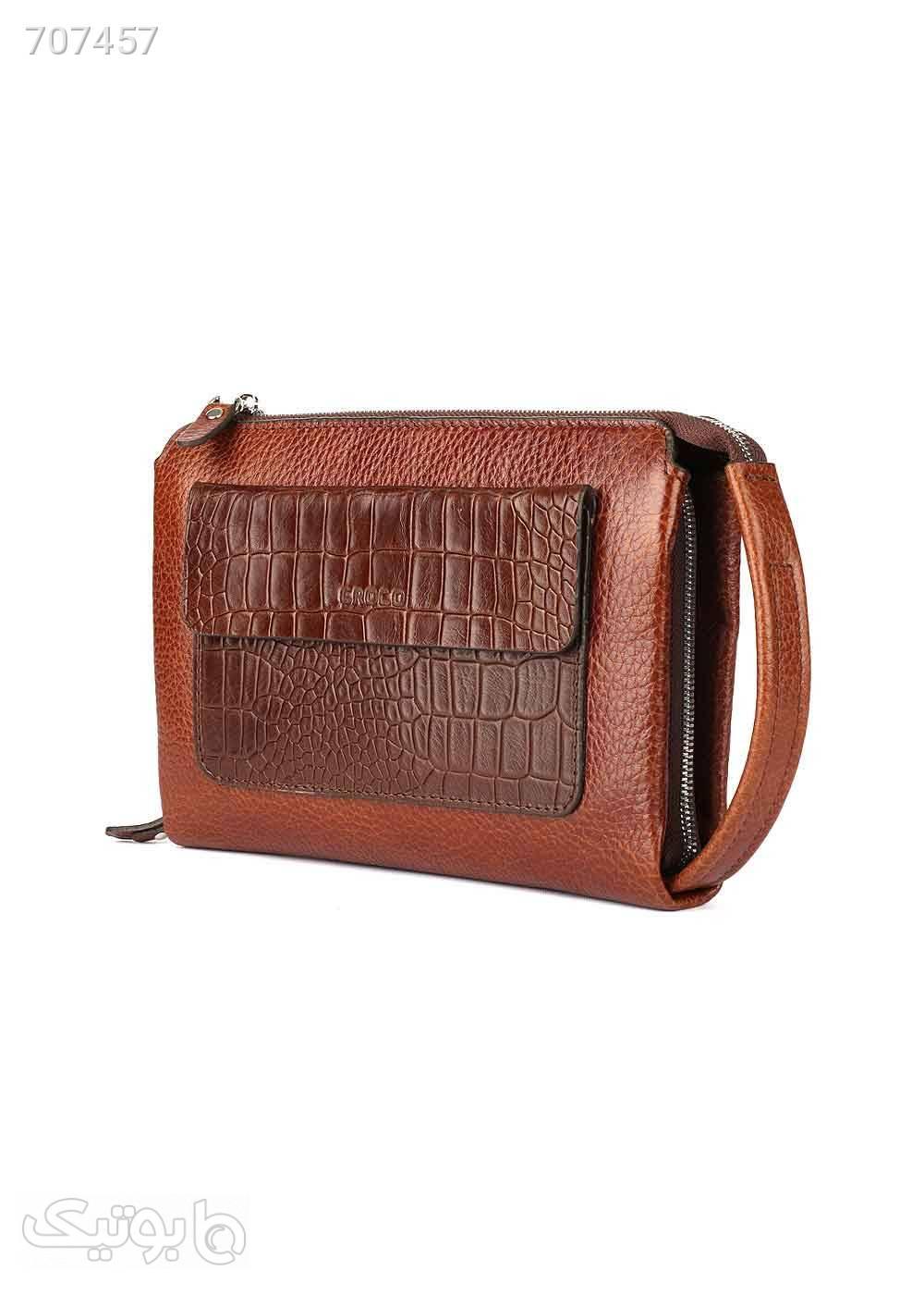 کیف پاسپورتی گوچی قهوه ای کیف اداری