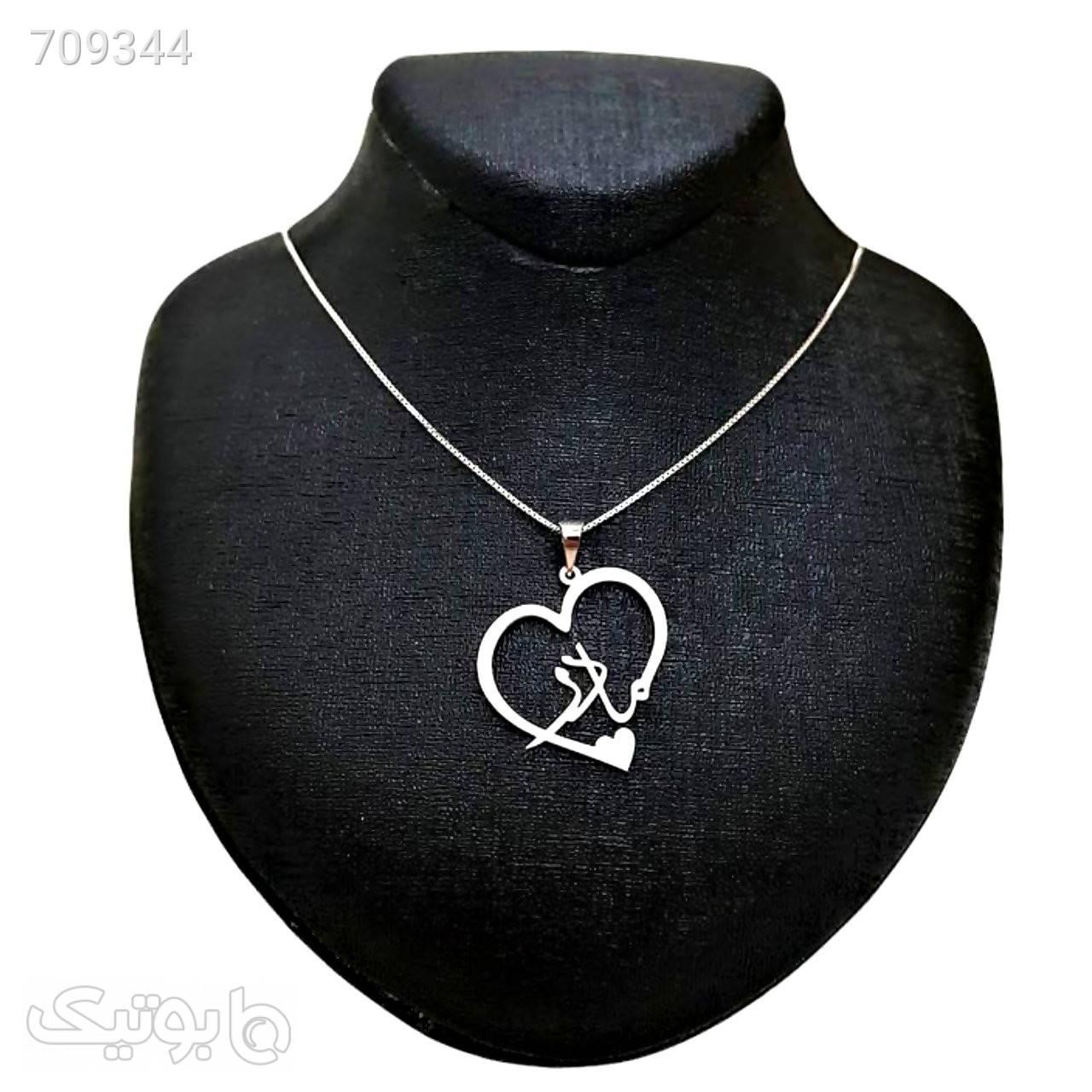 گردنبند نقره زنانه طرح مادر نقره ای گردنبند