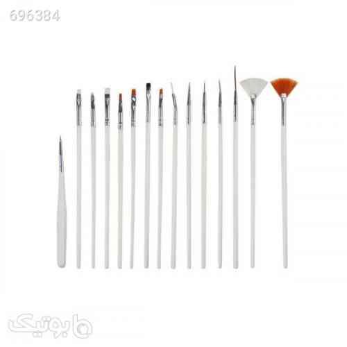 قلم موی طراحی ناخن مدل 702D بسته 15 عددی 99 2021
