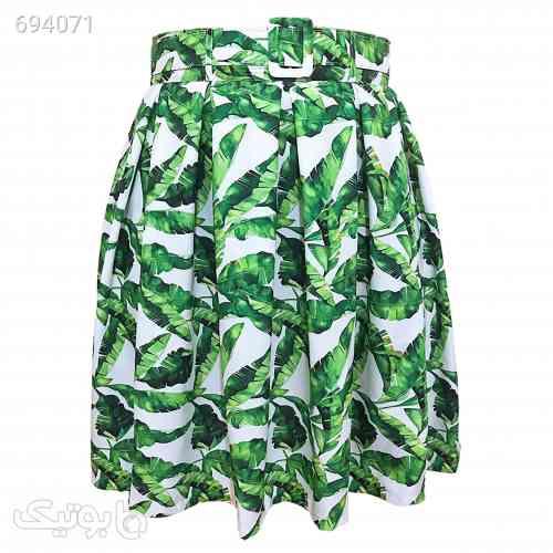 دامن زنانه کد 004 سبز 99 2021