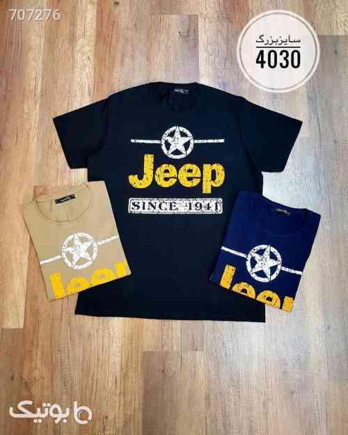 تیشرت Jeep سایز بزرگکد 175  سورمه ای 99 2021