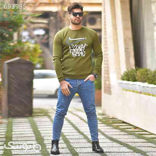 پليور تو كركي سبز مردانه مدلRARO طوسی 99 2021