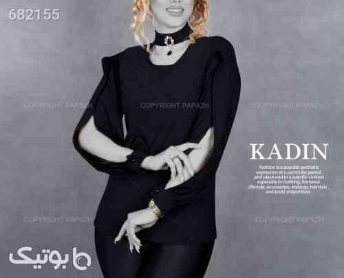 پیراهن زنانه KADIN مدل 9234 مشکی 99 2021