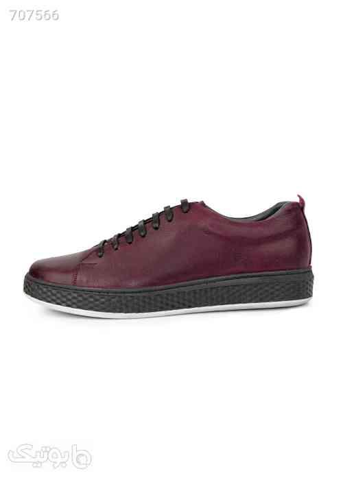 کفش کتانی مدل بوگاتی زرشکی 99 2021