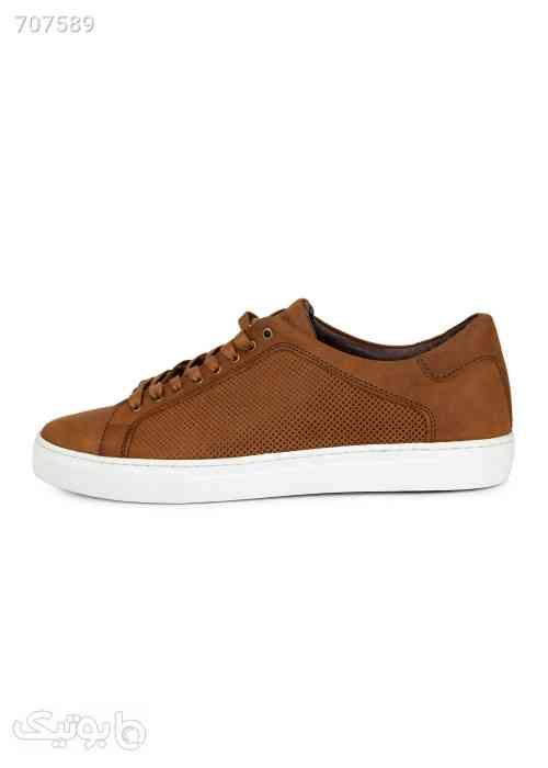 کفش کتانی مردانه مدل پوما قهوه ای 99 2021