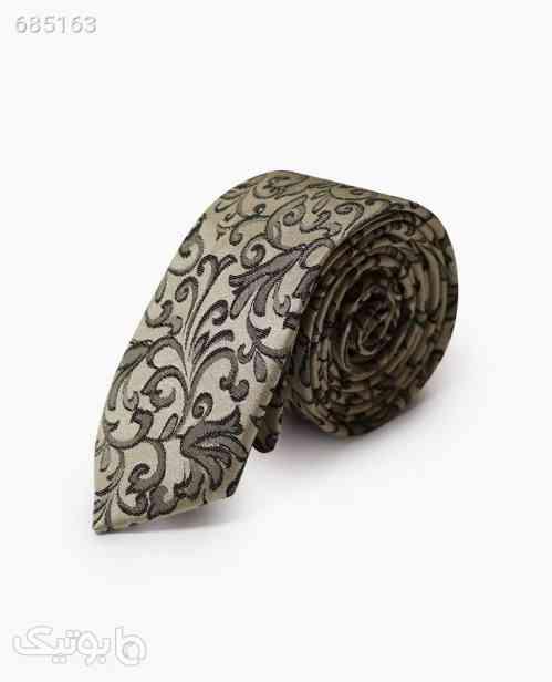 کراوات طرح دار مردانه کد 4514LightCream 99 2021