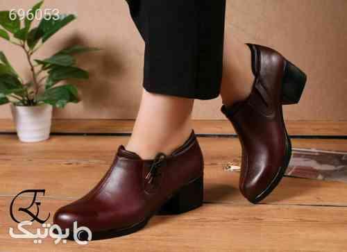 کفش زنانه طبی اداری خوشپاوجذاب مشکی 99 2021