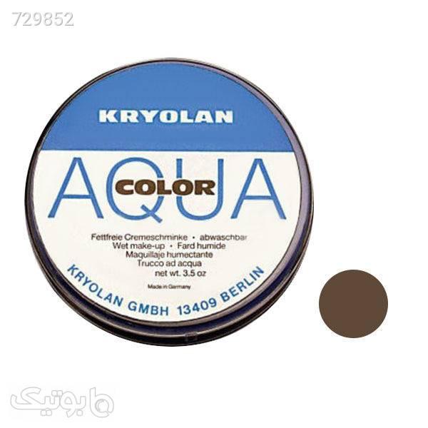 خط چشم و ابرو کریولان مدل AQUA شماره 000 مشکی آرایش چشم