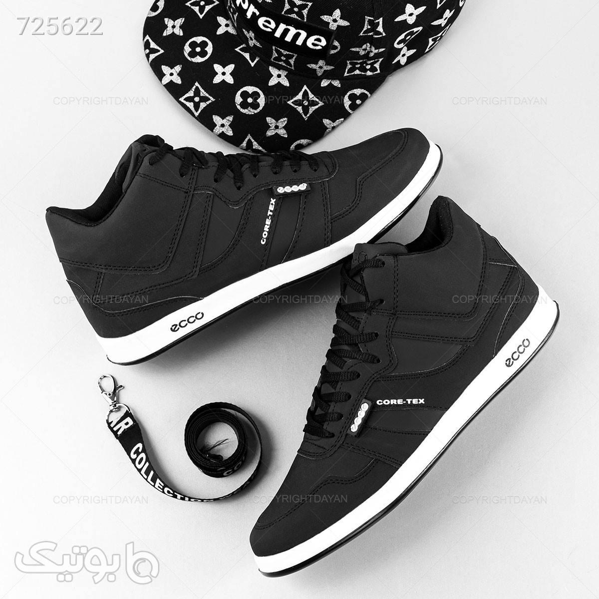 کفش ساقدار اکو طوسی بوت مردانه
