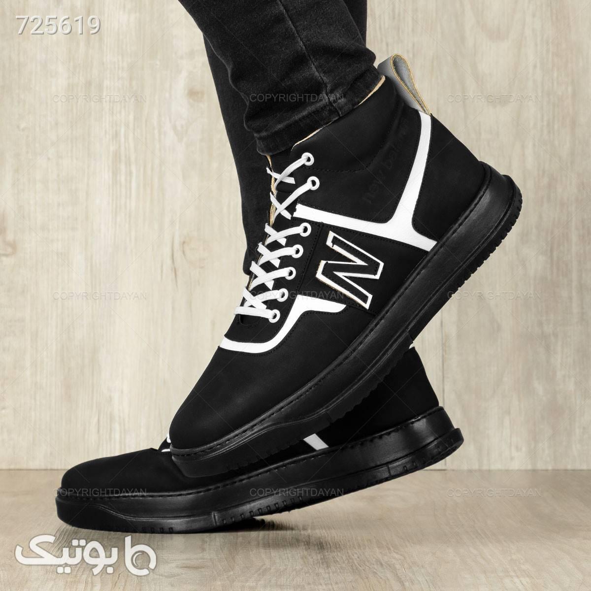 کفش ساقدار مردانه  مشکی بوت مردانه