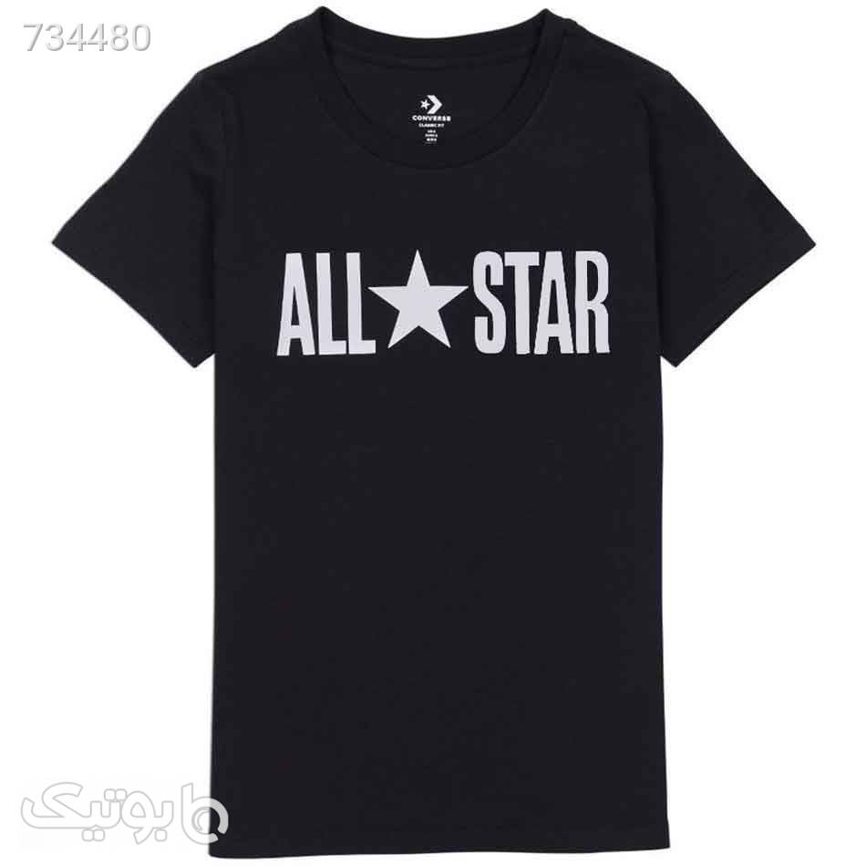 تیشرت ال استار مشکی مردانه مدل Converse chevron مشکی تی شرت و پولو شرت مردانه